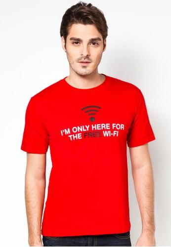 『免費無線網絡』文字TEEesprit hk分店, 服飾, 服飾