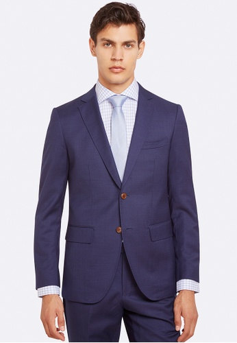 Oxford navy Auden Wool Suit Jacket 0C645AAAB559A3GS_1