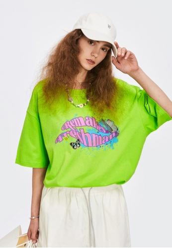 Twenty Eight Shoes Trend Printed Short T-shirt 1655S21 2C3FDAA989C065GS_1