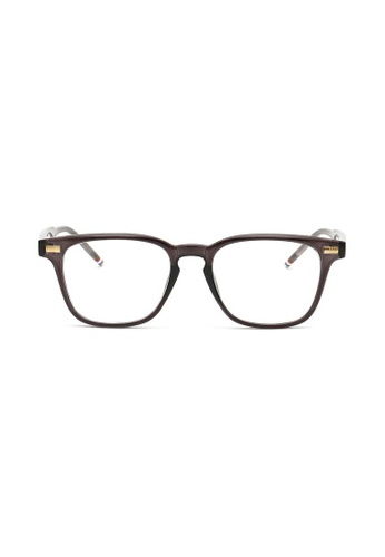 Kyfer's Eyewear & Essentials grey Angular Smart Glasses (Grey) KY376AC66ISBSG_1