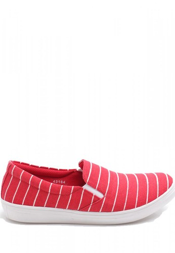Dr. Kevin Women Flat Shoes Slip On 43164 - Red