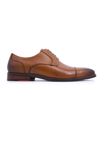 Simon Carter brown Simon Carter Lace-up Derbies - Tan F12D6SH583B905GS_1