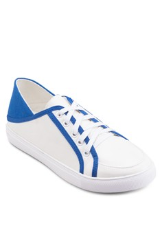 Slip On Lace Up Sneakers