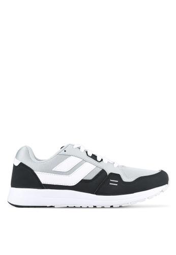 League black and grey Cruz Shoes LE683SH0S2OBMY_1