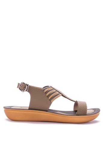 fabf4a08c72 Shop Huxley Ankle Strap Wedges Online on ZALORA Philippines