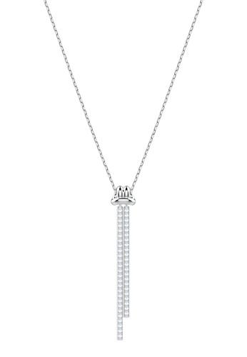 Swarovski silver Lifelong Pendant Necklace 5654BAC7615955GS_1