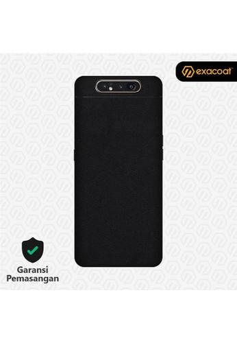 Exacoat Galaxy A80 3M Skins Matte Black - Cut Only 556D4ES723AF93GS_1