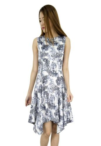 MOONRIVER grey Lucy Uneven Maxi Dress MO886AA0GE3PSG_1