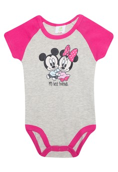 Newborn Mickey and Minnie Onesie