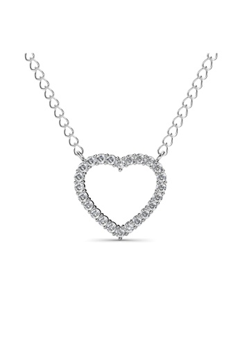 Her Jewellery white Her Jewellery Just Sweet Love Pendant (18K WG Plated) embellished W/Crystals from Swarovski HE210AC0G00QSG_1