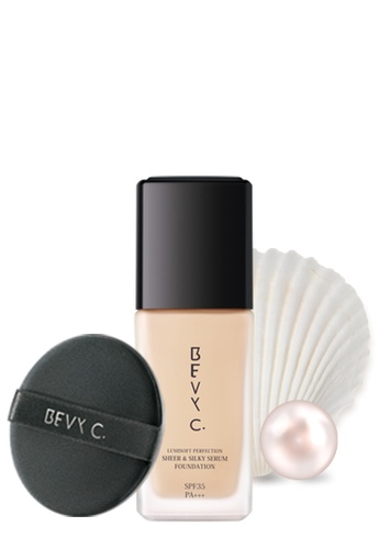 BEVY C. Sheer & Silky Serum Foundation SPF35 PA+++ A01 Bright BE844BE12WITSG_1