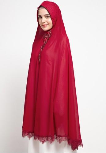 LUIRE by Raden Sirait red Ms Cr Khimar Syar'I C 4B6A5AAACC8C19GS_1