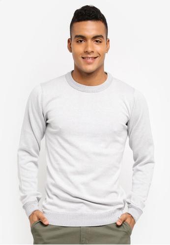 Indicode Jeans 白色 長袖針織上衣 67416AA8D6F7B8GS_1