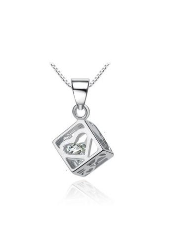 LYCKA silver LPP88143 S925 Silver Necklace 749D6AC7779B04GS_1