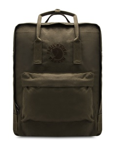 2ab27c2ce9 Fjallraven Kanken green Dark Olive Re-Kanken Backpack FJ382AC90ZNLMY 1