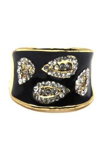 Istana Accessories gold Cincin shelia Fashion Ring-gold CD5FBAC62580B7GS_1
