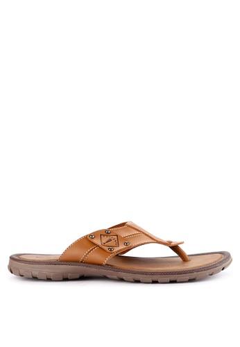 Watchout! Shoes brown Thongs C36B1SH9412C42GS_1