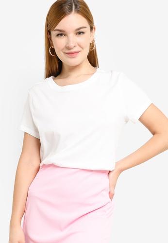 H&M white Jersey T-Shirt 4D334AAB8C791CGS_1
