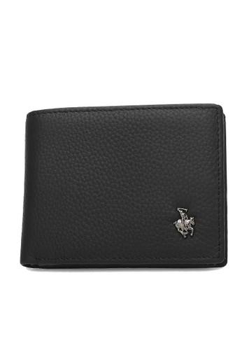 Swiss Polo black Genuine Leather Rfid Short Wallet 1B322AC037743EGS_1