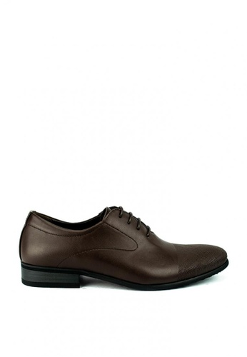 Cardam's Lifestyle brown Ozzy Formal Shoes 360EFSH53A8D5BGS_1