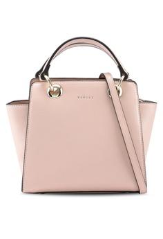 27c3abcb9a8b VINCCI pink Faux Leather Shoulder Bag E0FDCAC5EF53D7GS 1