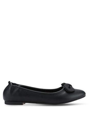ZALORA black Bow Ballerinas 00668SHFDFEC26GS_1