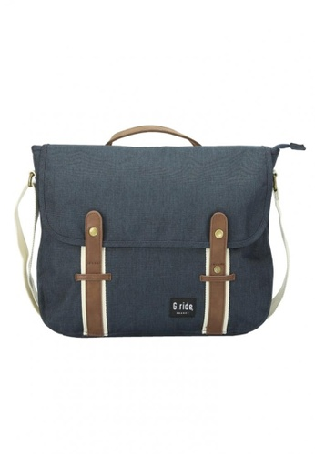 G.ride navy Betty Messenger Bag GR478AC0GKSASG_1