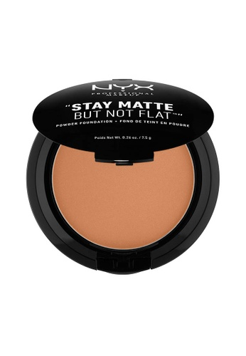 NYX Professional Makeup beige NYX Professional Makeup Stay Matte Powder Foundation- NUTMEG 0FA4ABEFFC05C8GS_1