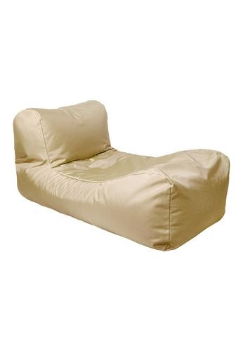 doob beige SPLOOSH ALFRESCO - outdoor doob bean bag recliner (Barley Beige) 3727CHL8842226GS_1