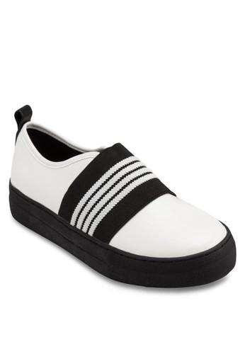 Abioyeesprit 香港 條紋色塊懶人運動鞋, 韓系時尚, 梳妝