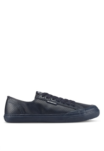 Superdry navy Low Pro Luxe Sneakers FDB33SH9A18B78GS_1
