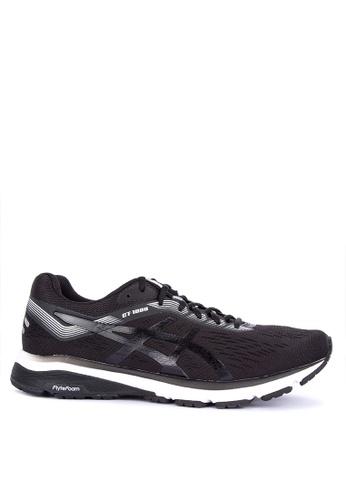 Asics black Gt-1000 7 Sneakers A0BAFSH840E68BGS_1