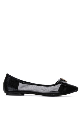 discount cheap sale purchase cheap Shop Figliarina Pointed Toe Ballet Flats Online on ZALORA Philippines