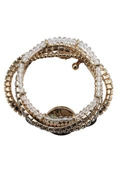 Abalone 串珠牌飾手環組合