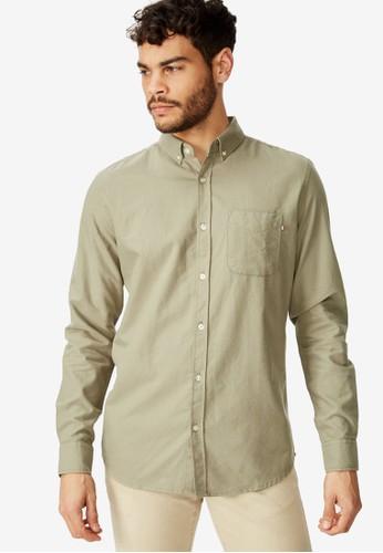 Cotton On green Brunswick Shirt CB1A7AA5243050GS_1