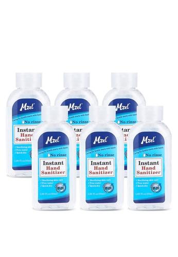 Hand Sanitizer white (Bundle of 6) Hand Sanitizer 50ML HA733ES19OP6MY_1