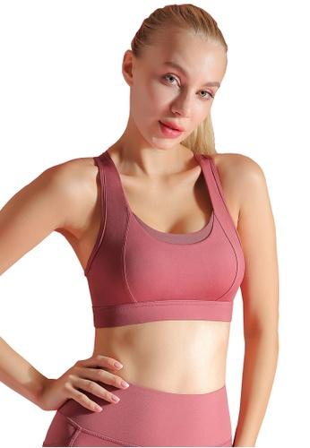HAPPY FRIDAYS Women's High Support Sports Bra QF2004 3BC2DAA07140E7GS_1