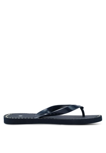 OVS blue and navy Rubber Flip Flops With Diamantes 5886CSH7019360GS_1