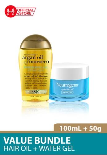 OGX OGX Renewing Argan Oil Morocco Penetrating Oil 100ml + Neutrogena Hydro Boost Water Gel 50g 1AB89BEC6BDFC4GS_1