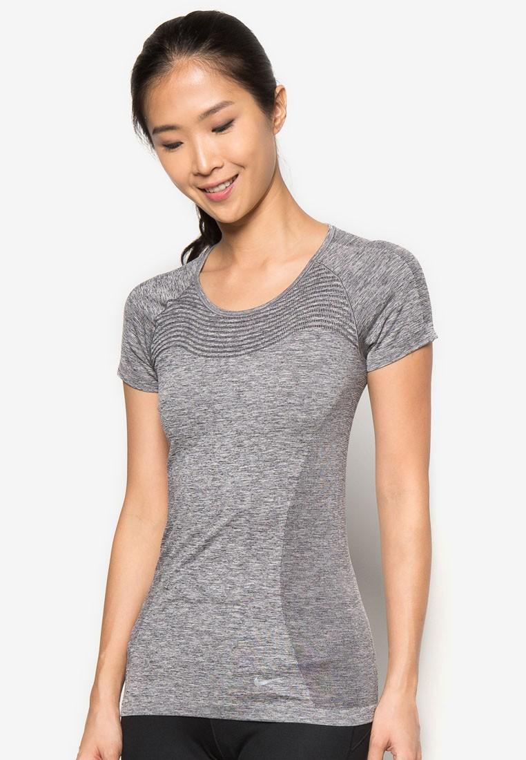 Nike Dri-FIT Knit Running Short-Sleeve Shirt