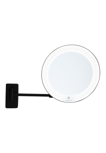 JVD JVD Lifestyle Cosmos Wall-Mount Cosmetic Mirror – Magnification 5X, Black finishing 5D1A0HL7890F68GS_1