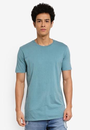 Cotton On 多色 休閒短袖長版T恤 B4A37AA1A12D91GS_1