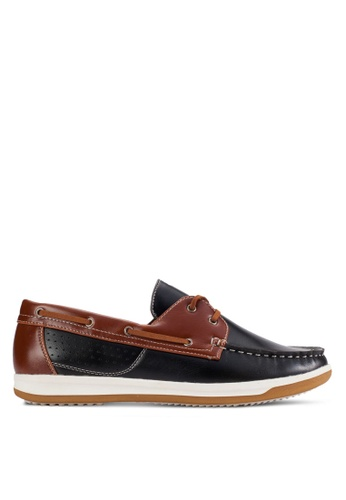 UniqTee black Lace-Up Moccasin UN097SH95KFWMY_1