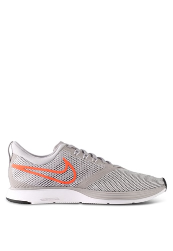 Nike grey Men's Nike Zoom Strike Running Shoes NI126SH0STTIMY_1