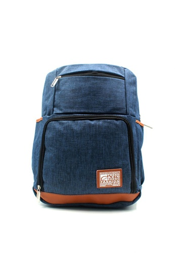 Urban Hikers blue Khaled Casual Backpack UR461AC32MXJPH_1