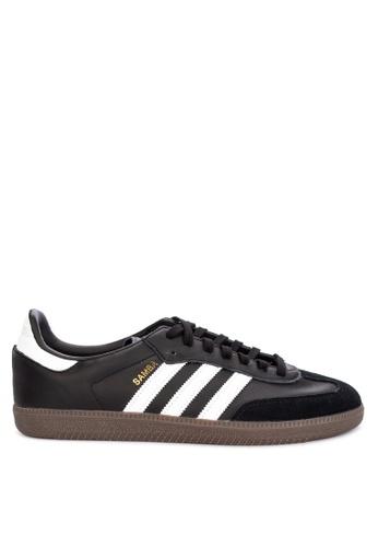 adidas black adidas originals samba og 20F1DSHCAAA357GS_1