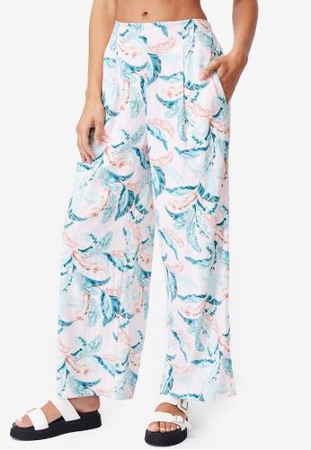 Cotton On multi Wide Leg Paradise Pants AFFD6AA3C1A57FGS_1