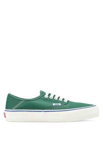 83443ccd6b098b VANS green Authentic Surf Salt Wash Sneakers CBB3DSH879B2B9GS 1