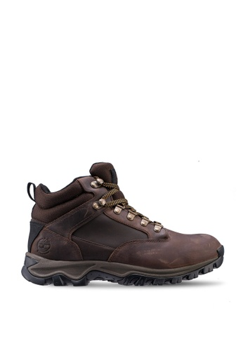 Timberland brown Keele Ridge Waterproof Leather Hiker Chukka B76BBSH509A5CCGS_1