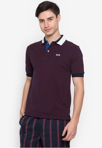 Le Tigre navy Men's Classic Polo Shirt 55840AA8A9D291GS_1